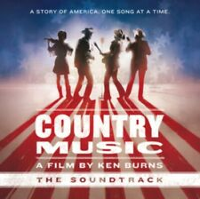 "Various Artists Country Music a Film by Ken Burns Vinyl 12"" Album 2 Discs"