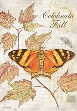 CELEBRATE FALL - LARGE GARDEN FLAG - BRAND NEW 28x40 DECORATIVE 0066