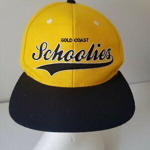 Schoolies Baseball Cap Gold Coast Official Cap 2011 Snap Back Hat Free Post