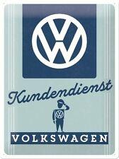 VW Kundendienst Volkswagen Customer Service Garage Large 3D Metal Embossed Sign