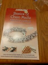 Artistic Wire 'Basics Of Chain Maille' - Technique Booklet New