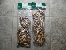 Lot of 2 Garland Canoe & Paddle Midwest Of Cannon Falls 8 Feet