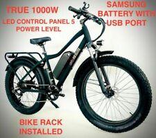 Bicicleta cross eléctrica