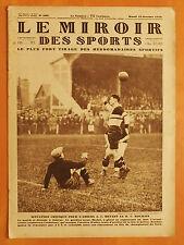Le Miroir des Sports N° 509 du 22/10/1929-R.C. Roubaix contre A.C. Amiens 2 à 0