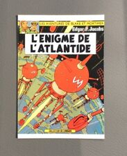 JACOBS. Carte postale.Les aventures de Blake et Mortimer L'Énigme de L'Atlantide