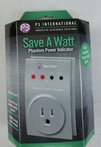 P3 International P4190 Save A Watt Phantom Power Indicator NEW in Box