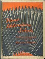 Walter Roehr  Piano Akkordeon Schule für kleine Instrumente Band 1