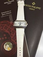 PATEK PHILLIPE GONDOLO 18K WHITE GOLD LADIES WATCH 4980G NEW!! $19,500 RETAIL!!!