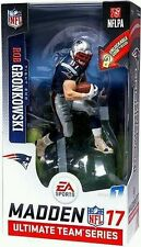 McFarlane Rob Gronkowski Patriots NFL MADDEN 17 Limited Exclusive Figure & Game
