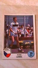 Ivan Lendl ROOKIE - Panini Sport Superstars 1981 - Good Condition