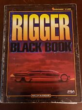 "SHADOWRUN ""RIGGER BLACK BOOK"" #7108"