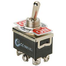 Connectoren, schakelaars, kabels 20 Pieces Heavy Duty Toggle Switch DPDT Center Off 20 Amp EC-1520 Nippon America