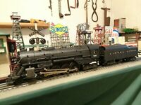 "Lionel Postwar 736 Steam Loco Berkshire""Sharp"" & 2046W Tender ready to work ! !"