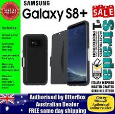 Otterbox Otter Box Samsung Galaxy S8+ Leather Wallet Card Case Strada Black