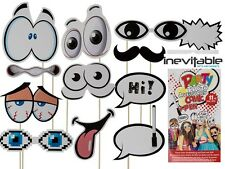 Comic Party Photo Booth Accessories Selfie Props Fun Party Kids Wedding