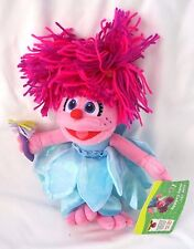 "Sesame Street Abby Cadabby 10"" Plush Doll Soft Stuffed Toy Figure-New!!!"