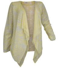 Heine Damen Shirtjacke Shirt Ausbrenner-Jacke Gr. 36/38 gelb 118108 .