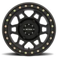 Method 405 Beadlock Matte Black ATV/UTV Wheel 14x7 4/137 - (4+3)