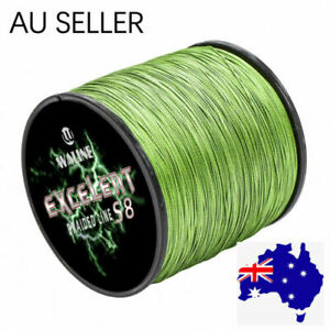 Waline 8 Strands Army Green Ultra Strong PE Braid Fishing Line 300M 500M 1000M