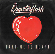 QUARTERFLASH - TAKE ME TO HEART - NOWHERE LEFT TO HIDE - EX-/VG-