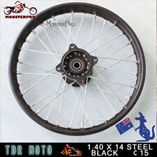 "Front rim 14"" inch 60/100-14 for 125cc 140cc Pitpro Foxico Atomik Trail DirtBike"