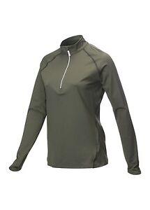 1/4 Zip Callaway Stretch Warm Base Layer Skin Gunmetal Charcoal Grey S,M,XL New