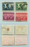 Lithuania 1939 SC 306-309 used . rtb3379