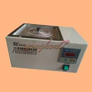 HH-1 Digital Lab Thermostatic Water Bath Single Hole Electric Heating 220/110V