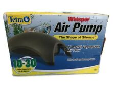 Tetra Whisper Air Pump 77856 10-30 Gallon New Open Box