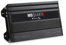MB Quart FA1-400.4 400W FORMULA Series 4-Channel Class A/B Car Audio Amplifier