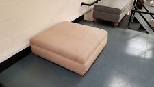 Ex-display Parker Knoll Oxford large fabric footstool