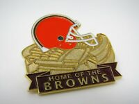Vintage Collectible Pin: Home of the Browns Cleveland NFL 1999