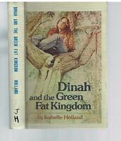 Dinah & the Green Fat Kingdom by Isabelle Holland 1978 1st Edition Rare Book! $