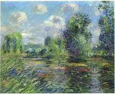 Woods Near Eure River 1920 A3 Box Canvas