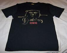 Bundaberg Rum Bear Mens Charcoal Printed T Shirt Size S New