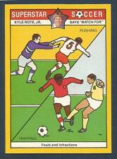 COLONIAL-SUPERSTAR SOCCER-1976- #11-FOULS & INFRACTIONS