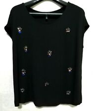 A/X Jeans embellished cotton top