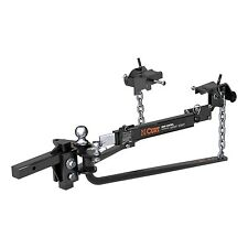 Curt 17063 Round Bar Weight Distribution Complete Kit 14000 LC Capacity