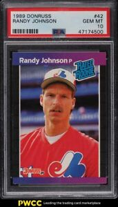 1989 Donruss Randy Johnson ROOKIE RC #42 PSA 10 GEM MINT
