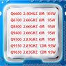 Intel Core Q6600 Q6700 Q8400 Q9400 Q9500 Q9550 Q9650 CPU Socket LGA775 Processor