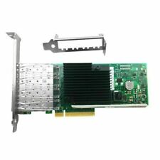 Intel X710-DA4 4-port 10Gbps SFP+ PCIe 3.0 x8 10Gbps Ethernet network card NEW