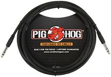 PIGHOG PTRS15 - 15FT 1/4 INCH TRS CABLE / WIRE / LIFETIME WARRANTY / Auth DLR