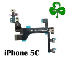 For iPhone 5C Power on/off Volume Buttons Flex Ribbon Cable Replacement