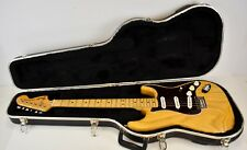 1976 Fender Stratocaster Hardtail Electric Guitar Natural Ash Finish - USA