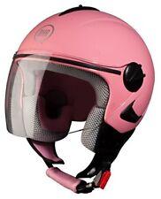 Casco aperto rose donna per la guida di veicoli