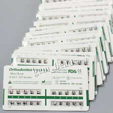 300 PKS Dental Orthodontic Brackets Brace Mini Roth Slot 022 Hooks 3-4-5 CE&FDA