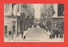 SAINT MALO - Rue et porte Saint Vincent   (J6487)