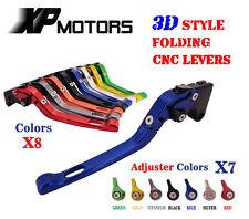 CNC 3D Feel Folding Brake Clutch Lever For YAMAHA YZF R1 02-03 FZ1 FAZER YZF R6