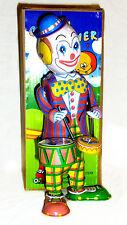 CLOWN MECANIQUE à clef jouet en tole old toys tin toys jouet ancien