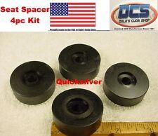 63 - 76 Dart Duster Demon Front Seat Rail Mounting Black Spacer Kit USA